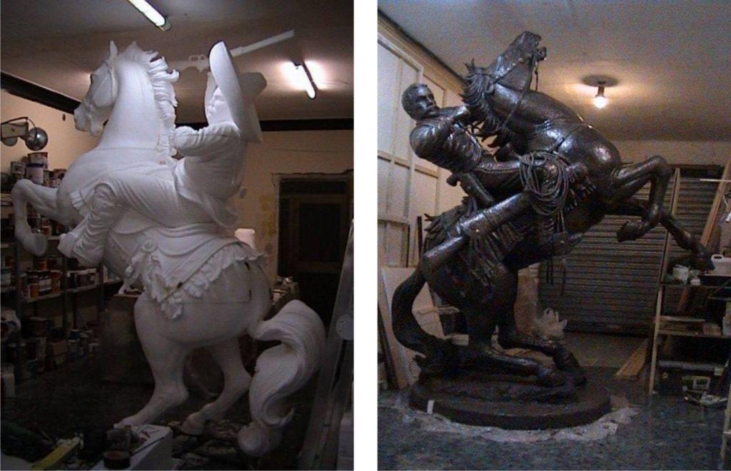 escultura de porex