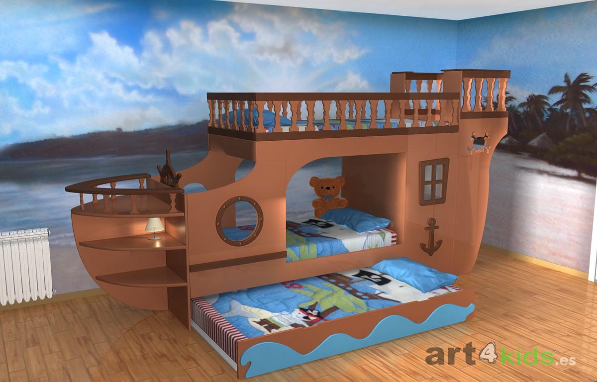Cama barco pirata (2)
