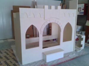 Cama castillo de princesa para niña- Art4kids