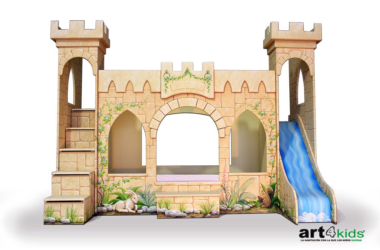 castillo de princesa mod Elegance- ART4KIDS