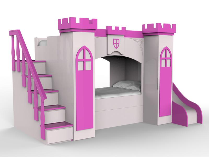 Castillo de princesa para niñas