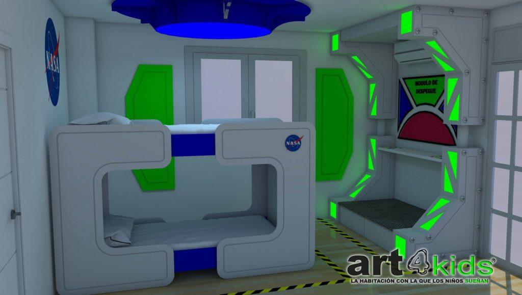 Habitacion espacial