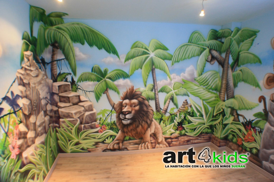 Habitacion tematica de la selva (1)