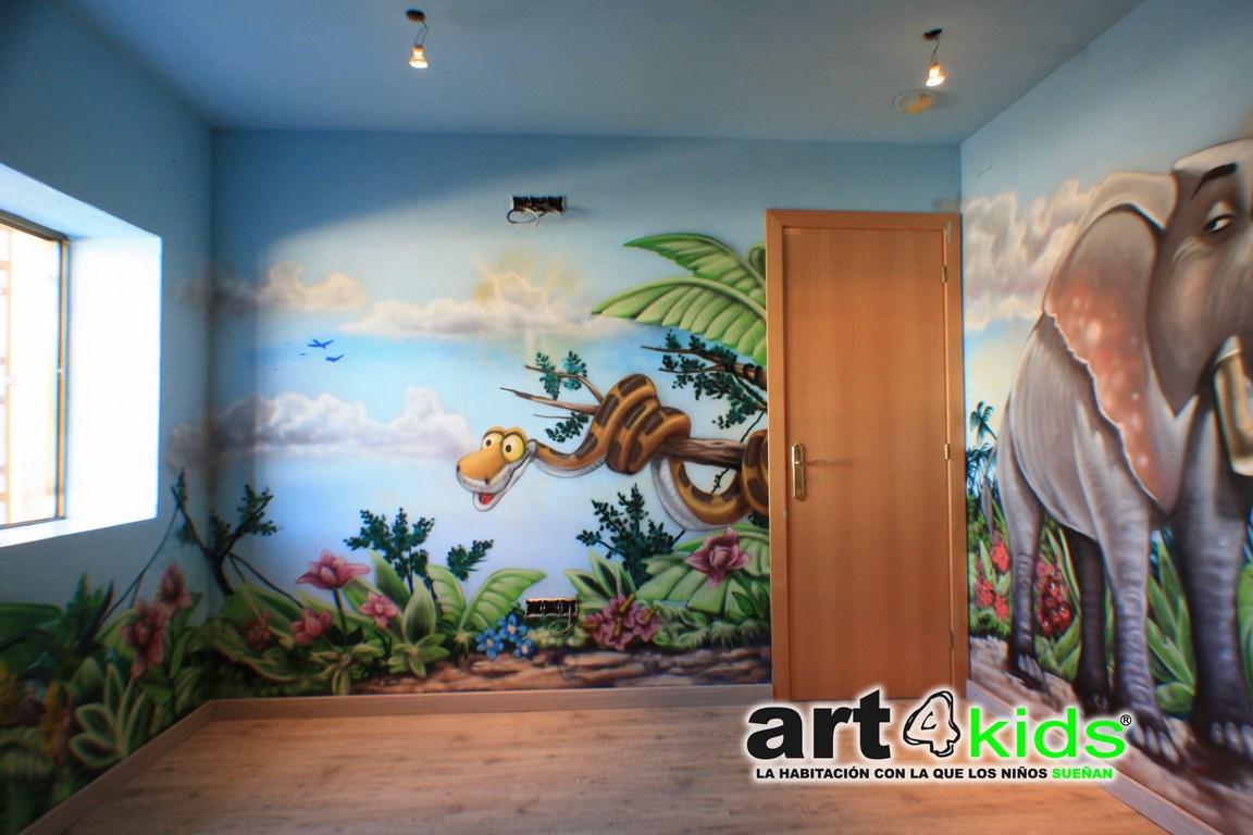Mural pintado art4kids