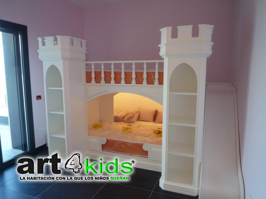 Cama castillo de princesa Elegance(1)