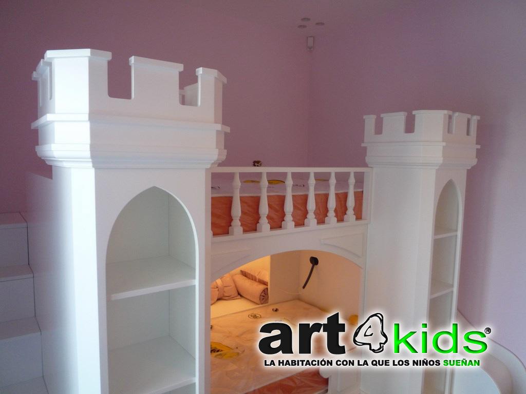 Cama castillo de princesa Elegance(2)