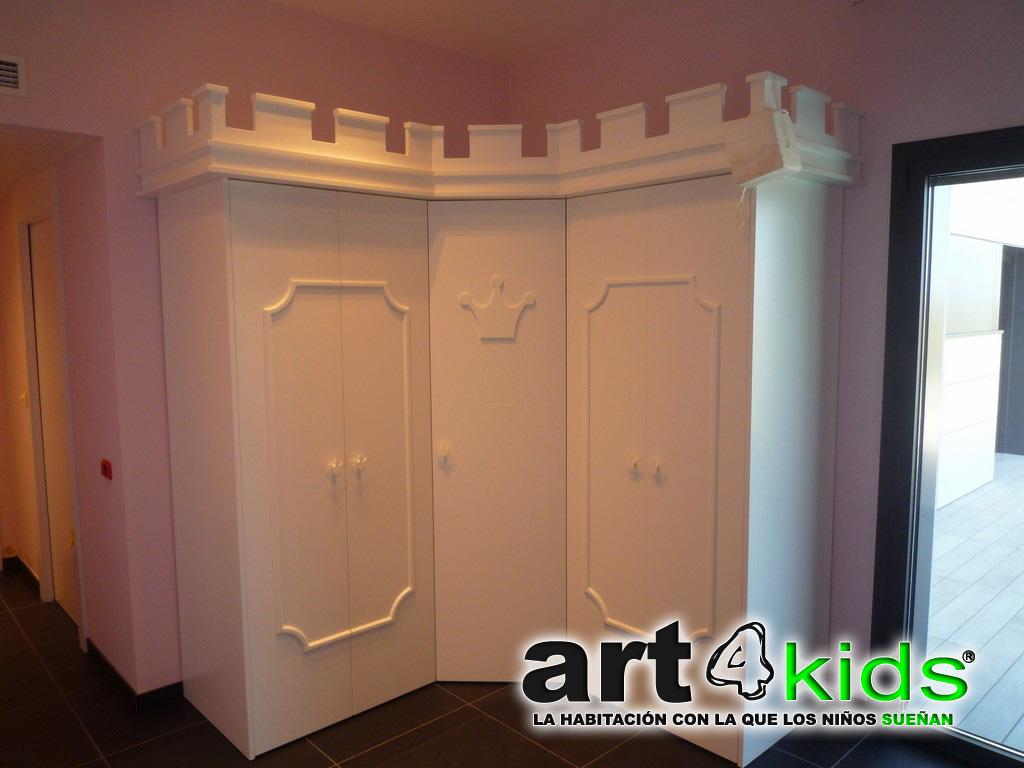 Cama castillo de princesa Elegance(3)
