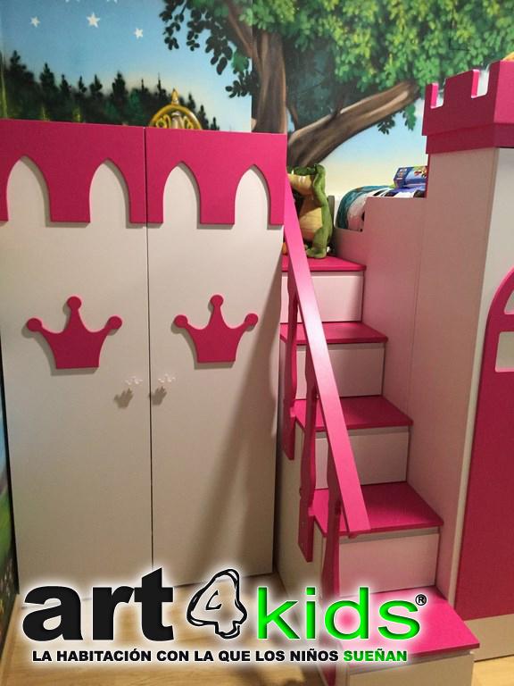 Dormitorio de princesas