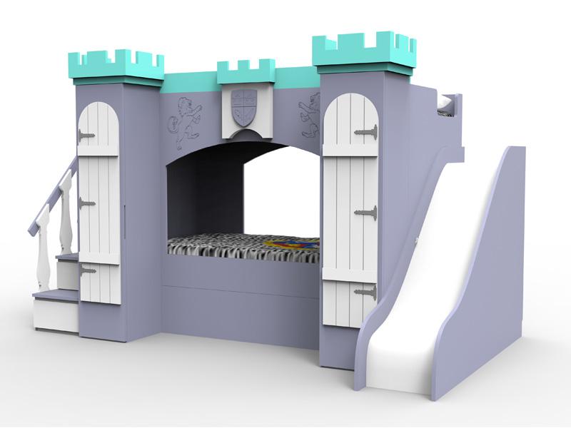 Litera castillo chicos