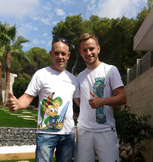 Ivan Rakitic Art4kids