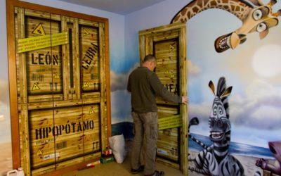 Ya hace 5 años de una habitación temática para Sergio García.