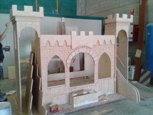 Cama castillo de princesa para niña- Art4kids1