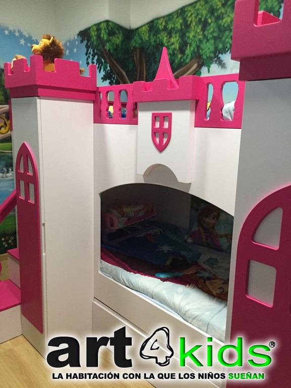Dormitorio de princesa