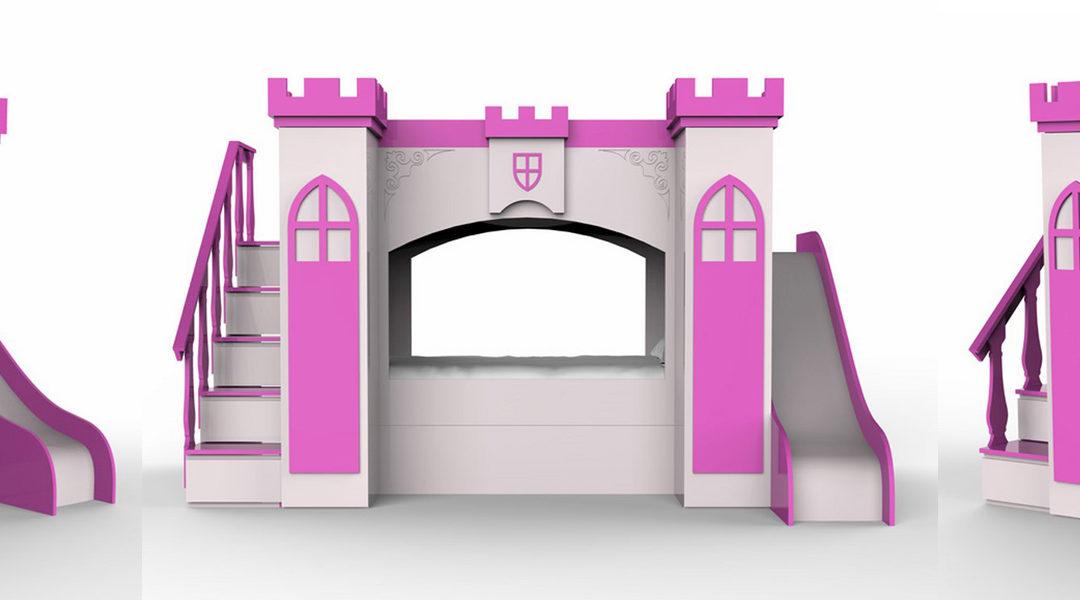 Castillo princesa modelo Berta