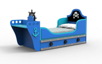 CAMA BLACK PIRATE