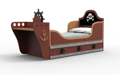 CAMA BLACK PIRATE 2