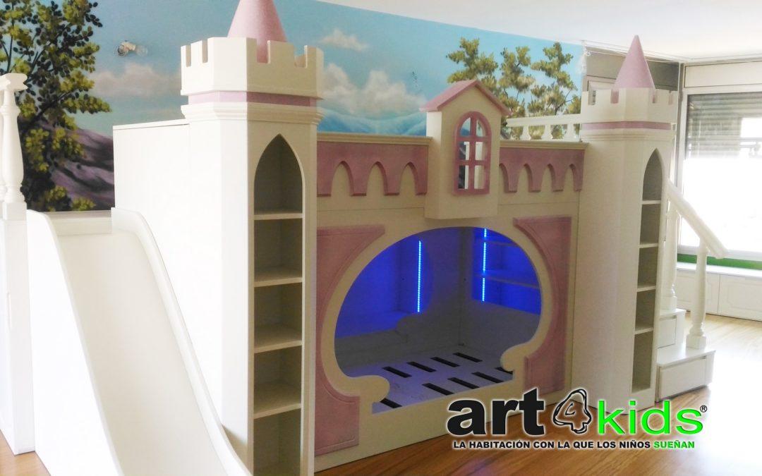 Habitación de princesa de luxe