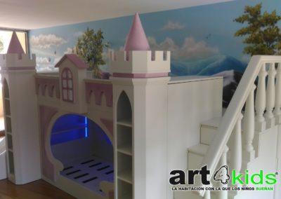 Cama castillo princesa (2)