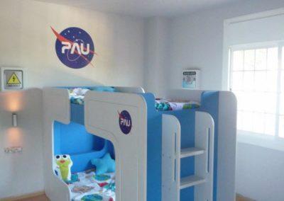 Habitación espacial 4