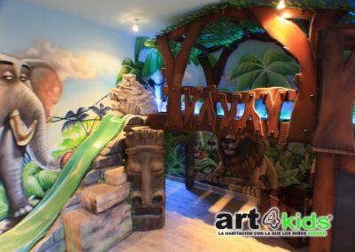 Habitacion tematica de la selva (3)