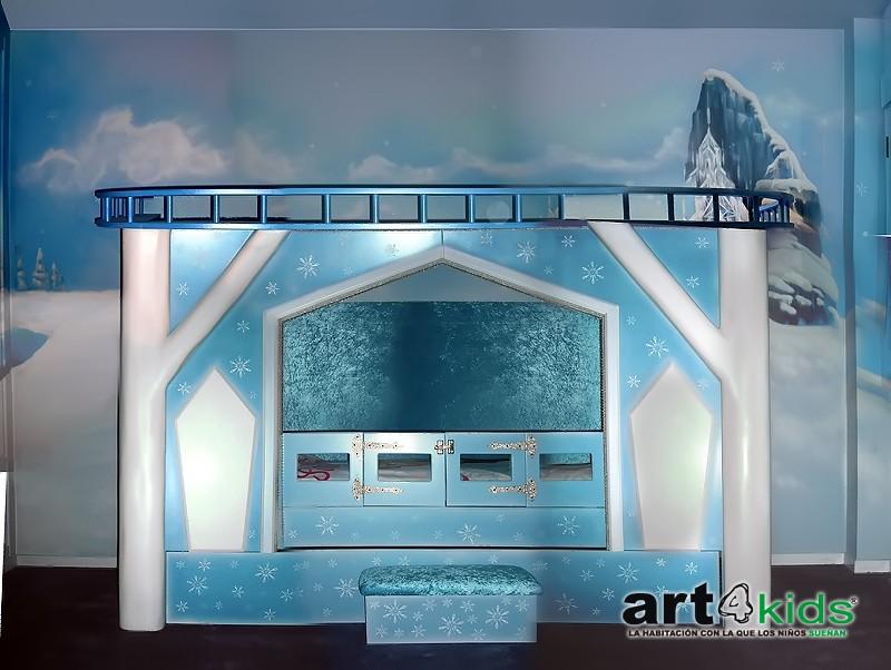 Habitación temática Frozen