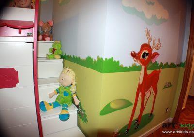 cama-habitacion-tematica-infantil-casita-ciervo