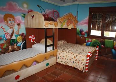 Habitación temática hotel 3