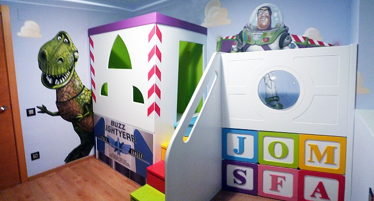 Habitación de juegos para niños