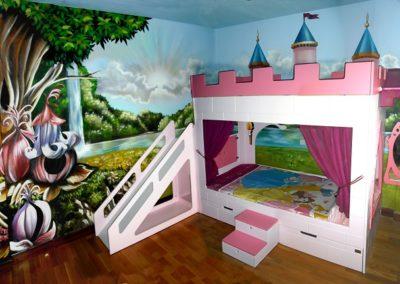 Habitación temática princesas 2
