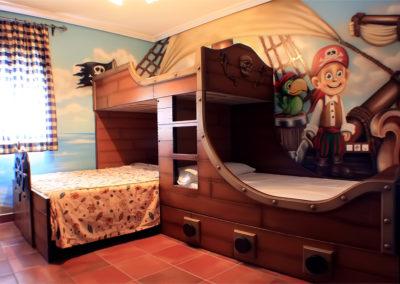 Habitación temática hotel 9